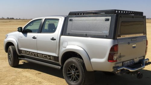 Toyota Hilux with canopy