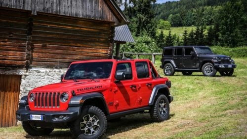 2018 Jeep Wrangler Rubicon and Sahara