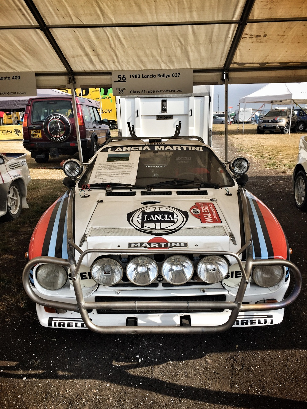 Lancia Rallye car - Group B