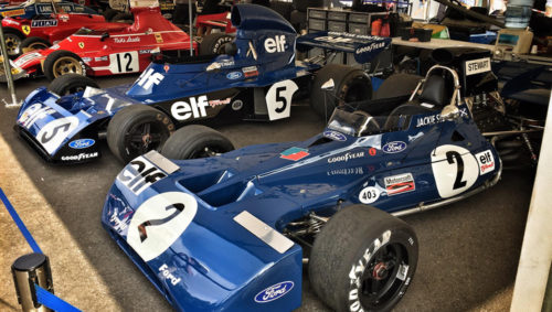 Goodwood Festival of Speed F1 cars