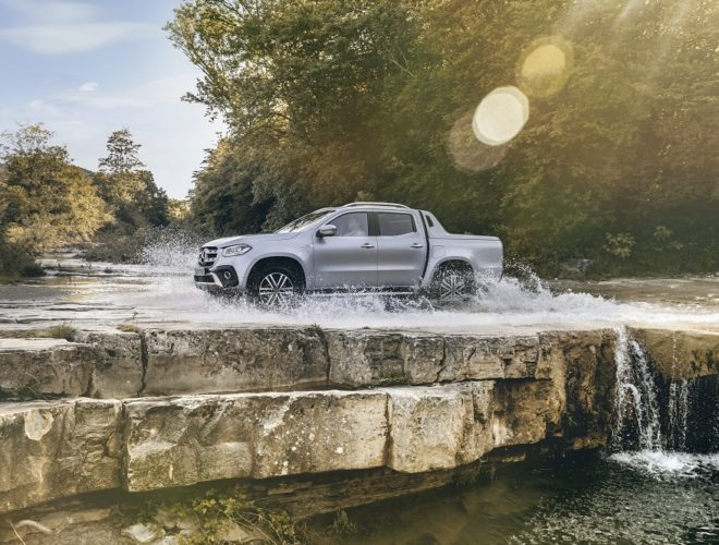Mercedes-Benz X 350 d 4MATIC: By the Power of V6
