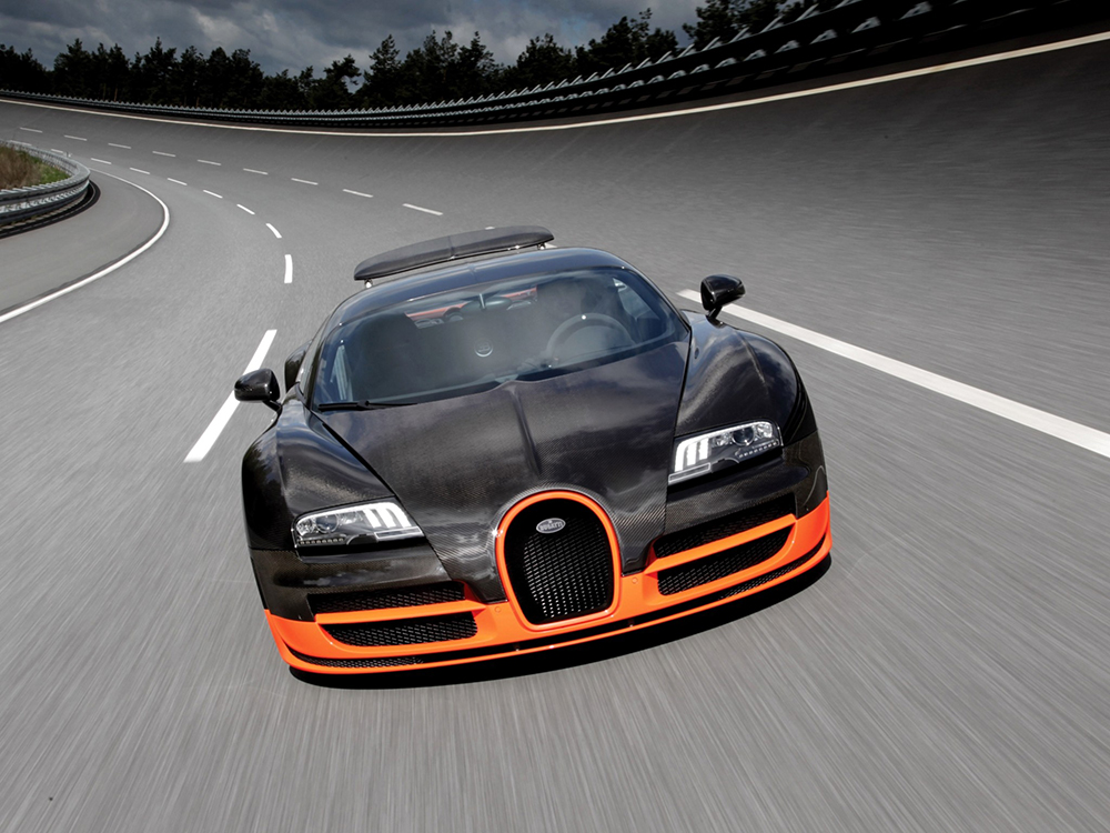 Top 15 fastest cars