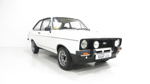 Ford Escort 1600 Sport front