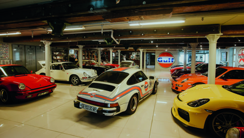 Porsche collector, Michelle Hambly-Grobler
