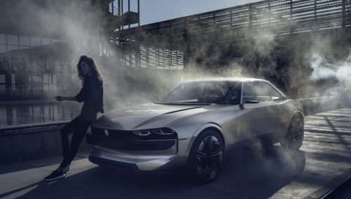 CONCEPT CAR: PEUGEOT E-LEGEND