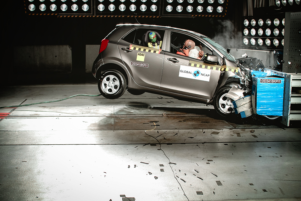 Kia Picanto Crash Test