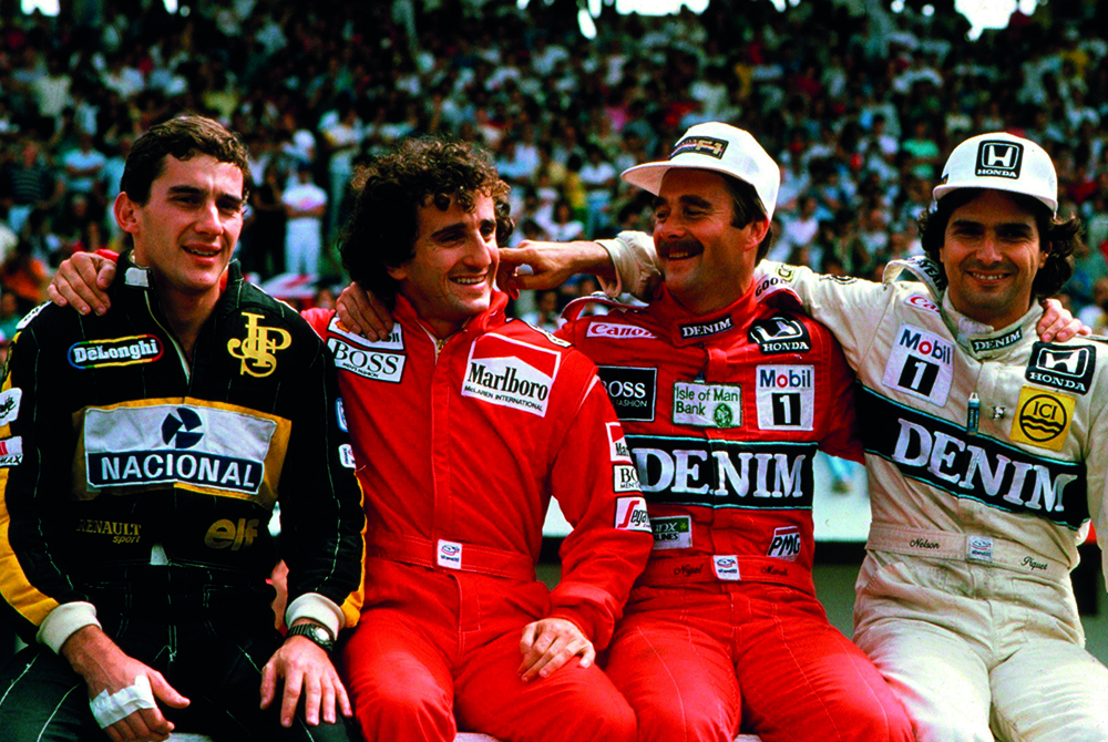 The F1 greats