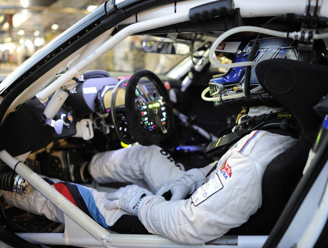 Alexander Zanardi in racing car