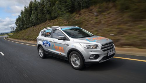 Ford Kuga Wesbank Fuel Economy Tour