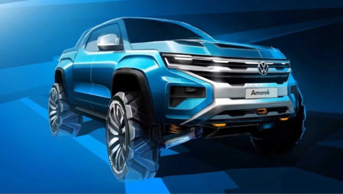 2021 Volkswagen Amarok teaser