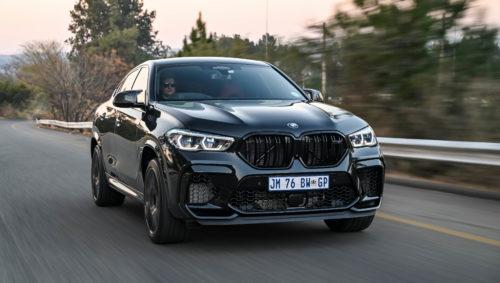 Black BMW X6 M Competition