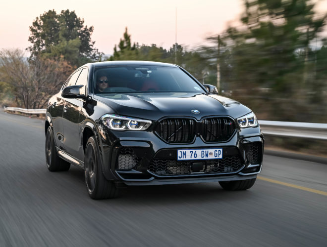 Black BMW X6 M Competition