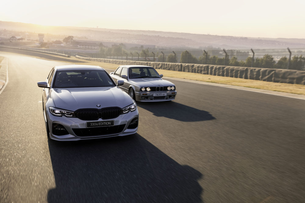 Glacier Silver BMW 330is Edition and 325is
