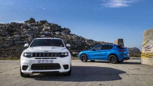 Jeep Trackhawk and Alfa Romeo Stelvio Q
